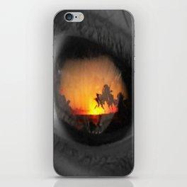 an eye for an eye iPhone Skin