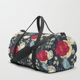 The Nightingale and the Rose Duffle Bag