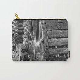 Grist Mill Water Wheel Carry-All Pouch