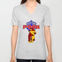 Doctor Pooh Unisex V-Neck