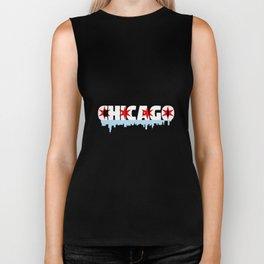 Chicago Flag Skyline Biker Tank