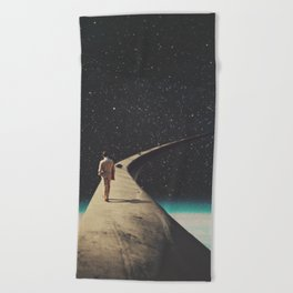 We Chose This Road My Dear Beach Towel