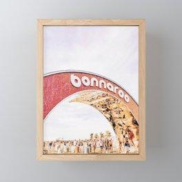 Happy Roo Framed Mini Art Print