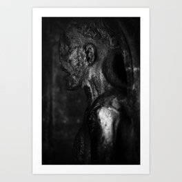 shot on film .. entombed Art Print