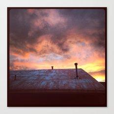Santa Fe Sunset, New Mexico Canvas Print