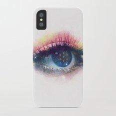 Flower Of Life (Cosmic Vision) iPhone X Slim Case