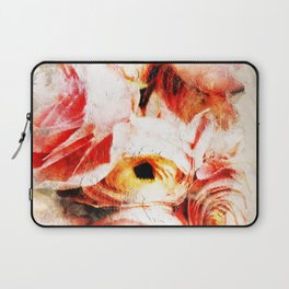 Subtle Blush - Abstract Roses Laptop Sleeve