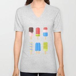 Popsicles Unisex V-Neck