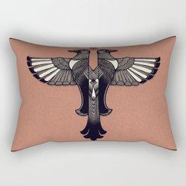 Magpie Emblem Rectangular Pillow