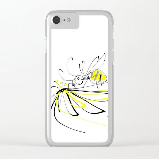 haritsadee 10 Clear iPhone Case
