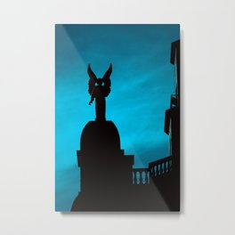 The Angels Take Montreal Metal Print