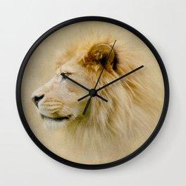 Lion III Wall Clock