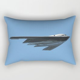 United States Air Force B-2 Stealth Bomber Rectangular Pillow