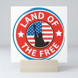 Land of the Free Mini Art Print