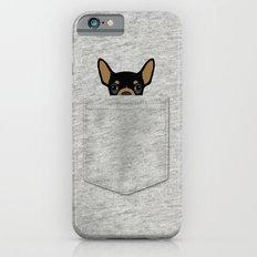 Pocket Chihuahua - Black Slim Case iPhone 6