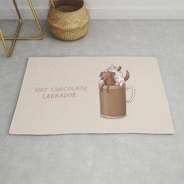 Hot Chocolate Labrador Rug