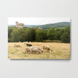 Saint Bertrand de Comminges, Pyrénées, France Metal Print