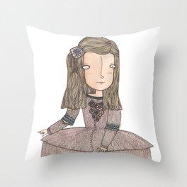 Menina Throw Pillow