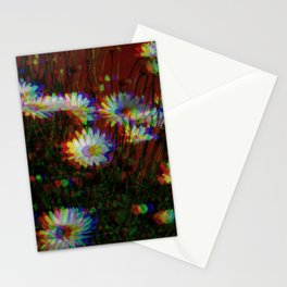 Smaller Daisies Infrared Stationery Cards