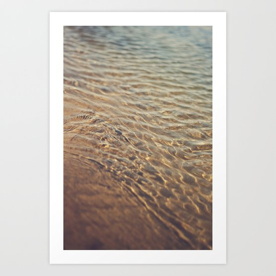 Calm Water Art Print