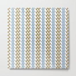 Pattern 124 Metal Print