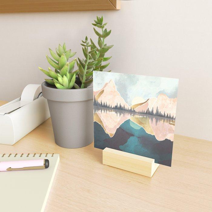Summer Reflection Mini Art Print