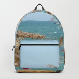 The Black Sea Coast, Varna,Bulgaria, 'Summer 's not over yet' Backpack