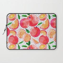 Citrus Love #digitalart #citrus Laptop Sleeve