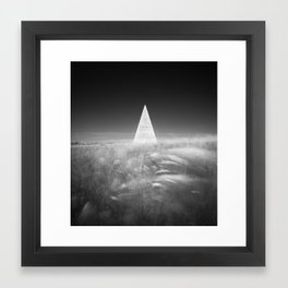 Pyramid of Golod Framed Art Print