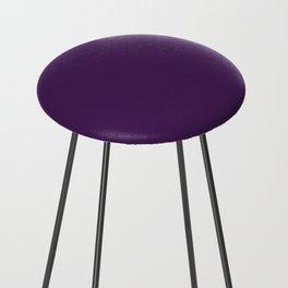American Purple Counter Stool