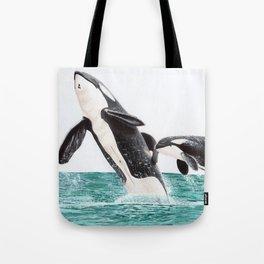 Keiko and Morgan Tote Bag