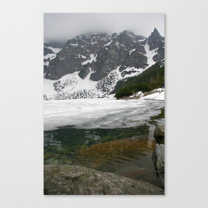 Morskie Oko_1 Canvas Print