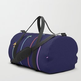 Retro Airplanes 09 Duffle Bag