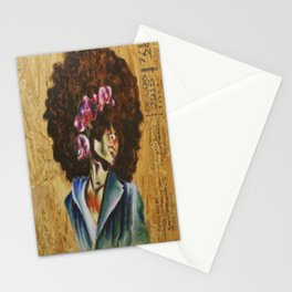 Her Lily- Purple Stationery Cards