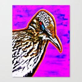 Pop Art Roadrunner No. 1 Canvas Print