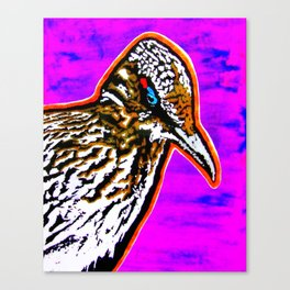 Pop Art Roadrunner No. 1 Canvas Print