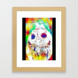 Rainbow Owl Framed Art Print