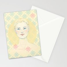 Warmth in winter. Stationery Cards