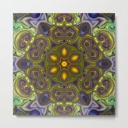 Star Flower of Symmetry 610 Metal Print