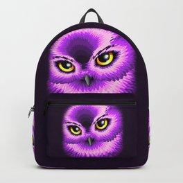 Pink Owl Eyes Backpack