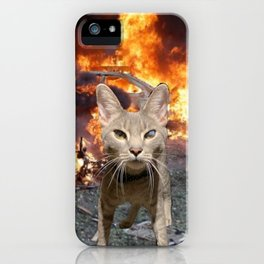 I have seen the future, brother, it is murder. iPhone Case