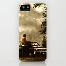 Boy Melodrama iPhone Case
