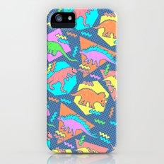 Nineties Dinosaur Pattern iPhone (5, 5s) Slim Case