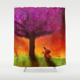 SOL KAT Shower Curtain
