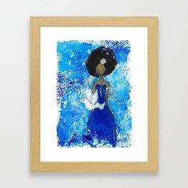 Zeta Angel Framed Art Print