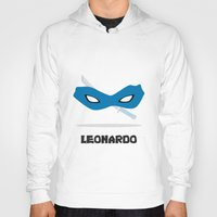 leonardo Hoodies featuring Leonardo by DSCDESIGNS