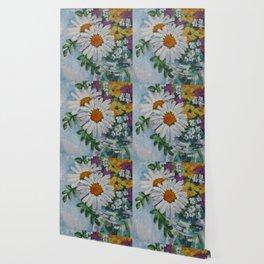 Wildflowers in a Jar Wallpaper