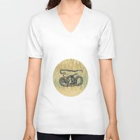 monty python V-neck T-shirts featuring Python ~ The Summer Series by Mary Kilbreath