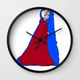 A Handmaid Wall Clock