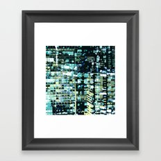 City Never Sleeps 1 Framed Art Print